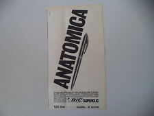 advertising Pubblicità 1964 PENNA BIC SUPERCLIC