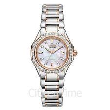 -NEW- Citizen Signature Ladies Octavia Diamond Watch EW2096-57D