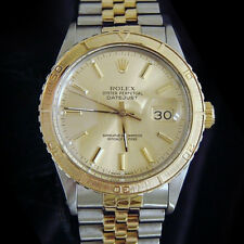 Rolex Datejust Thunderbird Turn-O-Graph 2Tone 14k Gold & Stainless Steel 16253