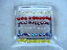60 Swarovski® Kristall Perlen Xilion Beads/Bicone 4mm SOMMERMIX 27