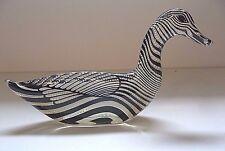 "VTG Abraham Palatnik 7"" Lucite Acrylic Duck Sculpture Figurine Brazil Pal 2397"