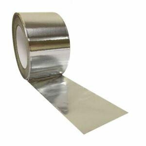 Aluminium Foil Tape Rolls Heat Insulation Duct Self Adhesive 72mm X 45m x 16roll