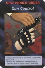 ILLUMINATI NEW WORLD ORDER CARD GUN CONTROL