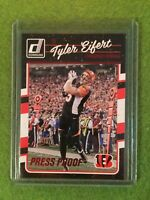 TYLER EIFERT BENGALS FOOTBALL CARD 2016 Donruss Press Proof #63 - Rare Red Foil!