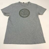 Penguin T Shirt Men's 2XL XXL Short Sleeve Gray Crew Neck Casual 100% Cotton