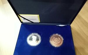Commemorative coin - installation of 15th Agong, Malaysia. 2 in 1 coin.