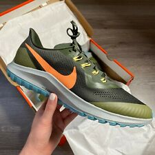 NIKE AIR ZOOM PEGASUS 36 TRAIL RUNNING TRAINERS SHOES SIZE UK9 US10 EUR44 CM28