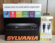 Sylvania Hdmi Dvd Player W/usb port Model SDVD6670 + 6ft Hdmi Cable!  Free Ship!