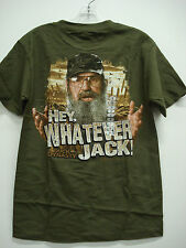 New Men's Duck Dynasty T-Shirt Green Multi Size Small #102H