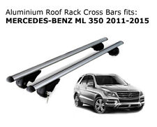 Aluminium Roof Rack Cross Bars fits MERCEDES BENZ ML 350 2011-2015