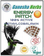 VITAMIN B12 ENERGY 24 PATCHES W/ Folic Acid HIGH ABSORPTION! Fresh Batch!