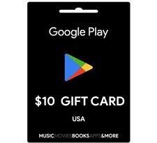 10$ google play gift card