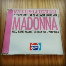 Madonna Pepsi Dutch Promo Like A Prayer CD Single 1989 Withdrawn Tour RARE