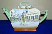 Antique Rare Royal Doulton Dickens Ware Poor Jo Teapot
