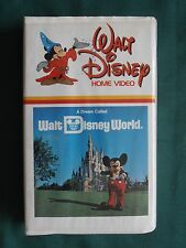 A Dream Called Walt Disney World (VHS, 1981) Out of Print Clamshell Case