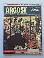 Vtg. ARGOSY Magazine Fiction Fact for Men Dec. 1956 Jack Dumas Cover Art 5570