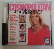 The Learning Company Cosmopolitan Virtual Makeover (Win/Mac PC, 1997 SegaSoft)