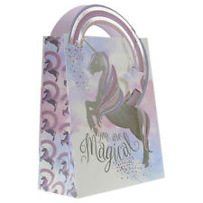 Large Magical Unicorn Birthday Party Wedding Loots Shop Treats Gift Paper Bag