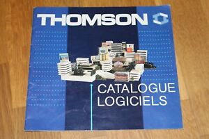 Livre THOMSON - CATALOGUE LOGICIELS MO5 MO6 TO7 TO8 TO9 TO9+ Mai 1985