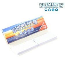 Elements King Size Rolling Papers Slim Connoisseur W/Tips USA Shipper