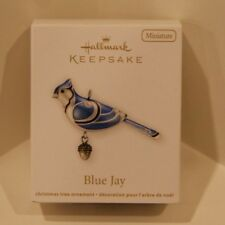Hallmark Keepsake Beauty of Birds Mini Miniature Ornament 2012 Blue Jay