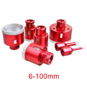 6mm-100mm Dry Diamond Drill Bits Vacuum Brazed Drill Holesaw Cut Bit New