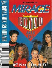 Mirage ‎Royal Mix '89 CASSETTE ALBUM Electronic House Hi NRG Downtempo Synth-pop