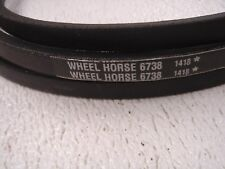 Toro Wheel Horse OEM  6738 mower deck (spindle shaft) drive belt -new  FREE SHIP