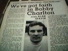 football ephemera 1973 article alan spavin preston north end
