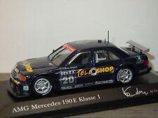 Mercedes 190E KL1 DTM 1994 M.Gindorf - Minichamps 1:43 in Box *34445