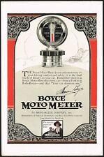 1920s Original Vintage Boyce Moto Meter Art Deco Print Ad