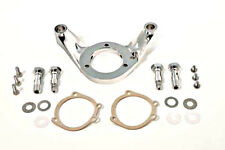 CHROME AIR CLEANER BRACKET BREATHER S&S E CARB TO E AIR FILTER HARLEY EVO MOTOR