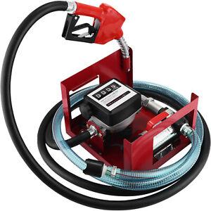 Gasolio Travaso Pompa Elettropompa Diesel 40 Lt/Min Contalitri 2800rpm 220V