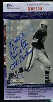 Otto Graham Jsa Coa Autographed 1994 Ted Williams Authenticated Hand Signed