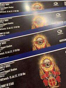 GUNS N' ROSES Wien 13.07.2022 TICKETS, FOS 1, Eingang lila - Ausverkauft!