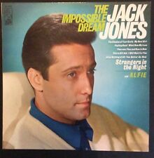 Jack Jones on Kapp KL1486 – The Impossible Dream Disc in N- condition, cover E+