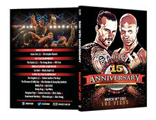 Official ROH Ring of Honor - 15th Anniversary 2017 Event DVD