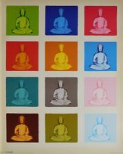 BUDDHA POSTER (40x50cm) POPART NEW LICENSED ART