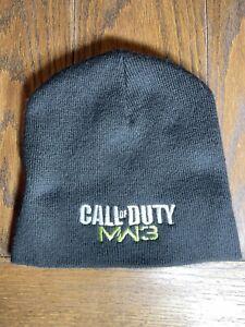 Xbox 360 Call Of Duty Modern Warfare 3 Black Winter Hat Beanie MW3