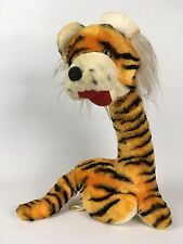"50s Vintage Bantam 17"" Plush Tiger Giraffe Long Neck Odd Creepy Unusual Toy USA"