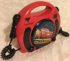 Lexibook Disney Pixar Cars 3 Lightning McQueen CD Player With Microphones
