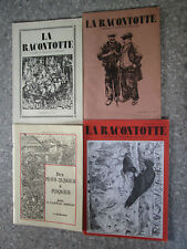 Franche Comté La Racontotte 4 Numéros 28-(29-30)-31-32