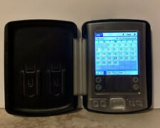 Genuine PalmOne Tungsten E2 Handheld Pda & Charger & Tungsten Hard Cover Tested!