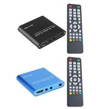 Mini HD 1080P SD USB Multi Media Player For HDMI/AV/MMC MKV AVI Blue-ray Movie