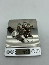 Sterling Silver Scrap or Not 45.0 grams silver including stones (CT)