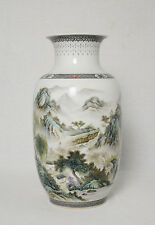 Chinese  Famille  Rose  Porcelain  Vase  With  Studio  Mark      M2815