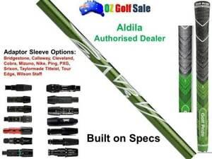 Aldila NXT GEN NV Green 65S Driver FW Shaft + Adaptor Tip +Grip - Built on Specs