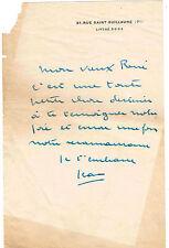 """LE DOCTEUR JEAN DALSACE BATISSEUR DE """"LA MAISON DE VERRE"""" A PARIS (ARC. CHAREAU)"""