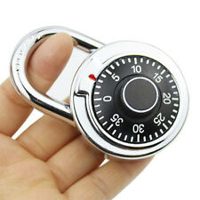 3-Dial Combination Password Padlock for Dormitory Door gym locker Safe Code Lock