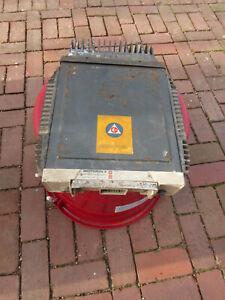 Vintage Motorola Motrac Trunk Transceiver Unit Adam 12 Police Fire Dragnet 2-Way